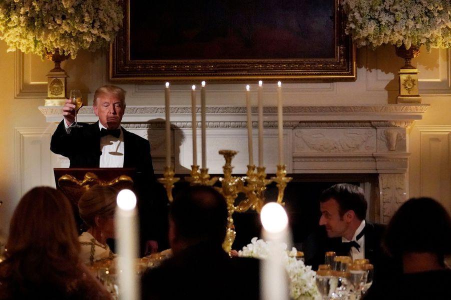 Toast de Donald Trump.