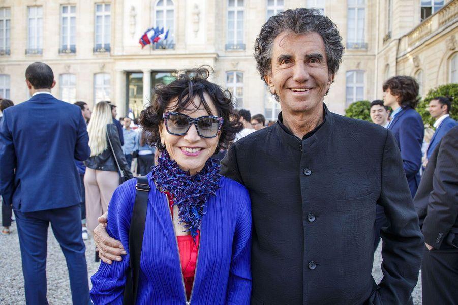 Jack et Monique Lang figuraient parmi les invités.