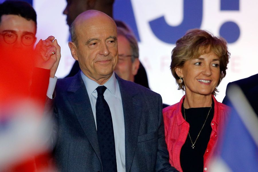 Alain et Isabelle Juppé.