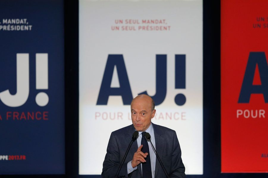 Alain Juppé en meeting à Nancy vendredi soir.