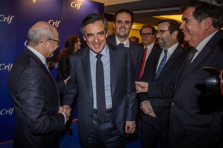 François Fillon etFrancis Khalifat