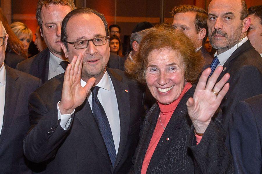 François Hollande etBeate Klarsfeld