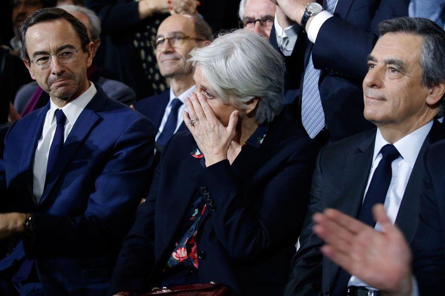 Penelope Fillon au meeting de La Villette.