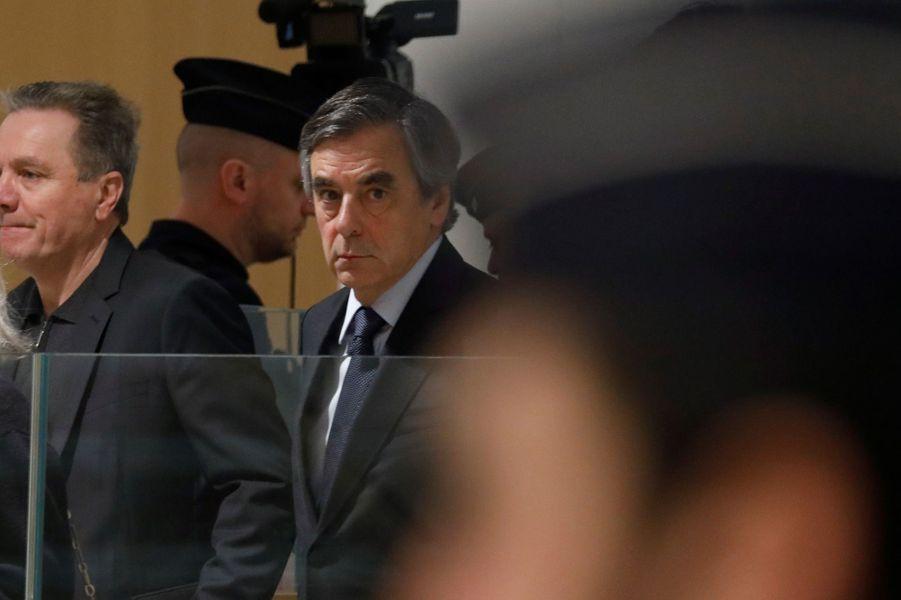 FrançoisFillon lundi autribunal correctionnel de Paris.