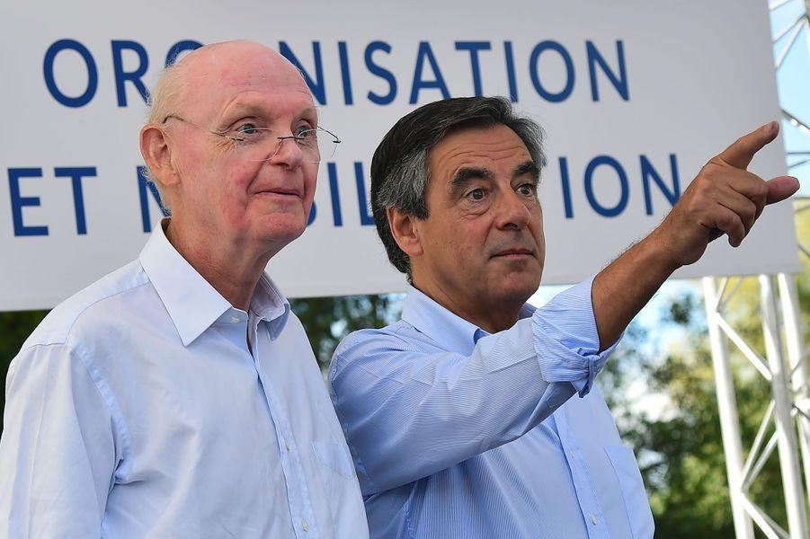 Patrick Stéfanini est le directeur de la campagne de François Fillon.