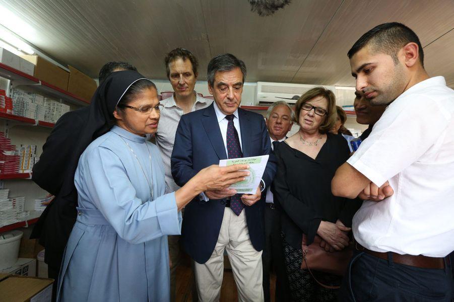 François Fillon: son voyage au Kurdistan irakien en images