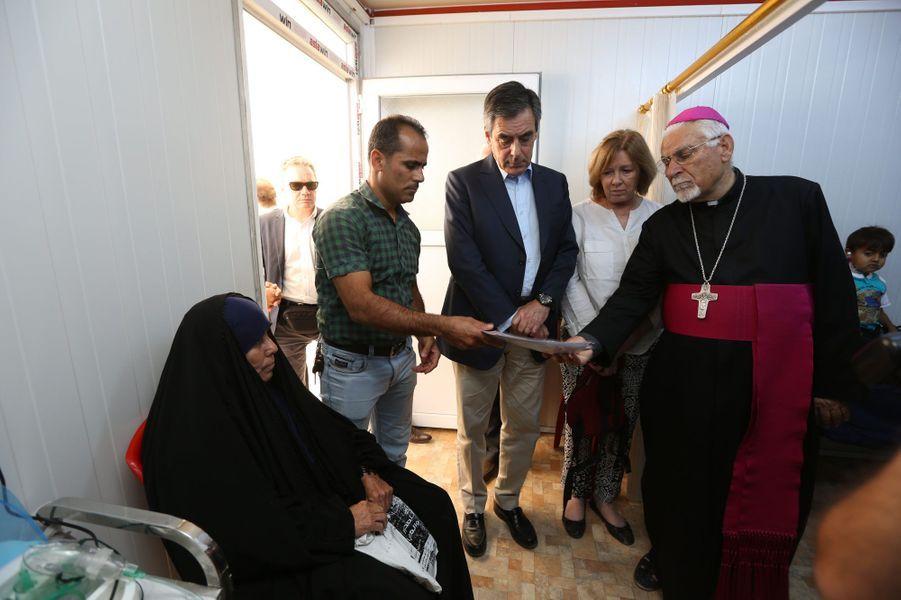 Dimanche 5 juin, dans le camp de réfugiés d'Ashti, qui compte 5500 déplacés, tous des chrétiens venus des villages de la plaine Ninive.