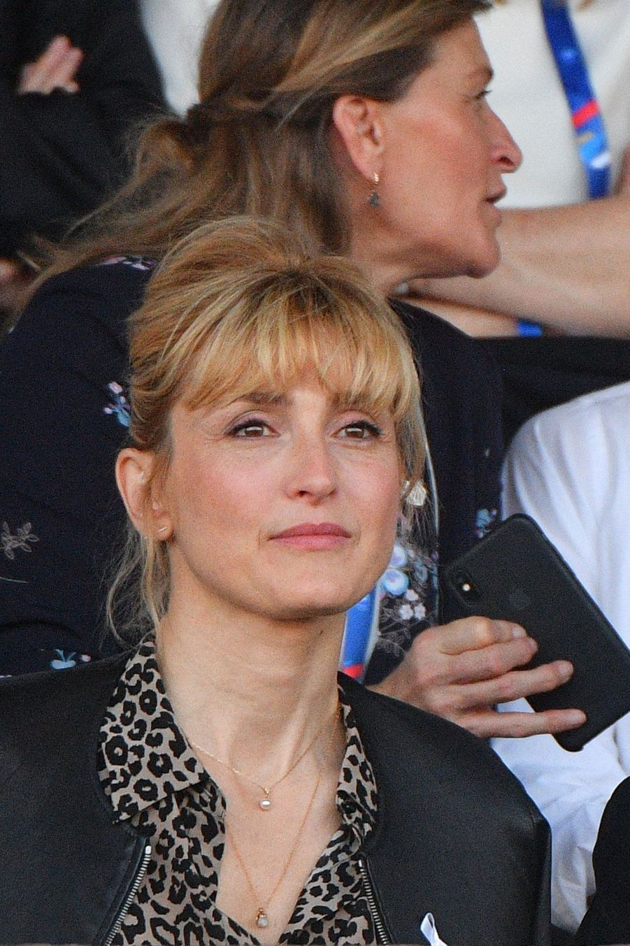 Julie Gayet, supportrice des Bleues, le 31 mai 2019.