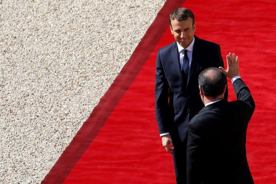 François Hollande a quitté le Palais de l'Elysée dimanche matin.