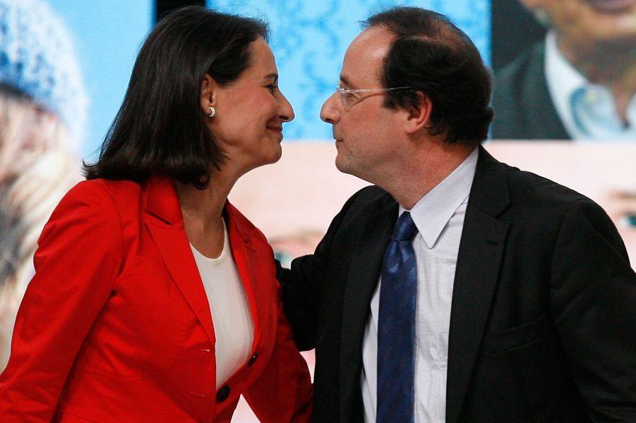 Ségolène Royal et François Hollande à Limoges, en mars 2007.