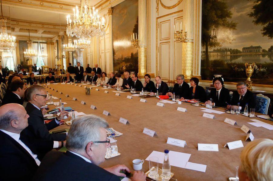 François Hollande a présidé mercredi son ultime Conseil des ministres.