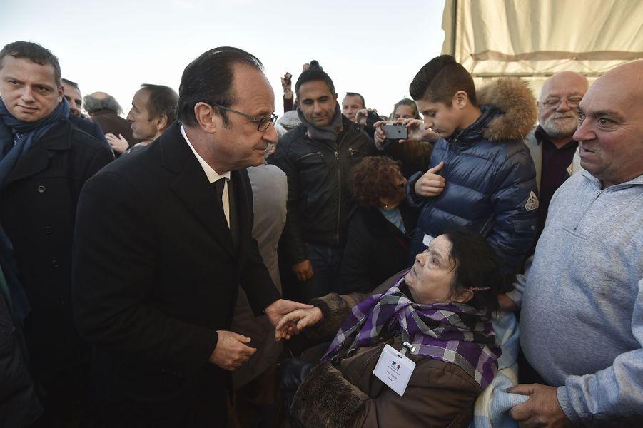 François Hollande, son hommage aux Tsiganes, le 29 octobre 2016.