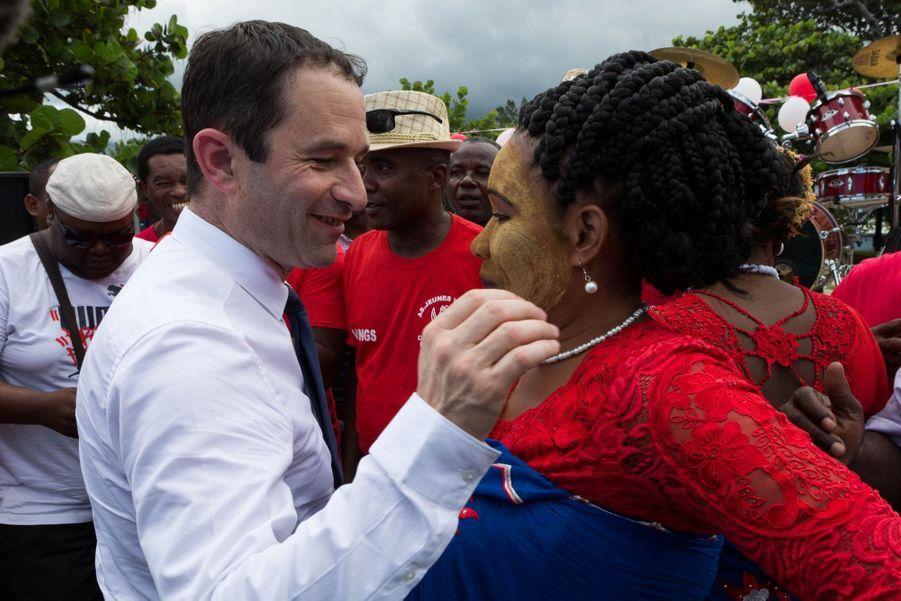 Benoit Hamon En Campagne À La Réunion 7