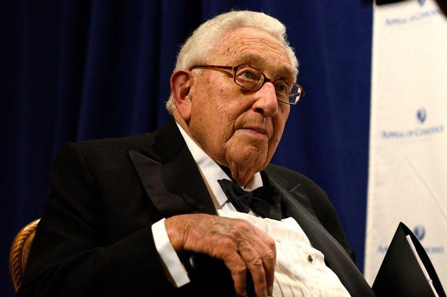 L'ancien secrétaire d'Etat américain Henry Kissinger
