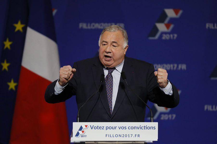 Le président du Sénat, Gérard Larcher