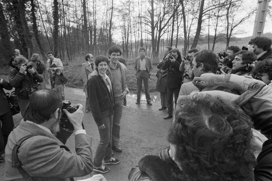 Mars 1979, Jacinte et son fiancé, Philippe Guibout. Le couple se mariera en avril.