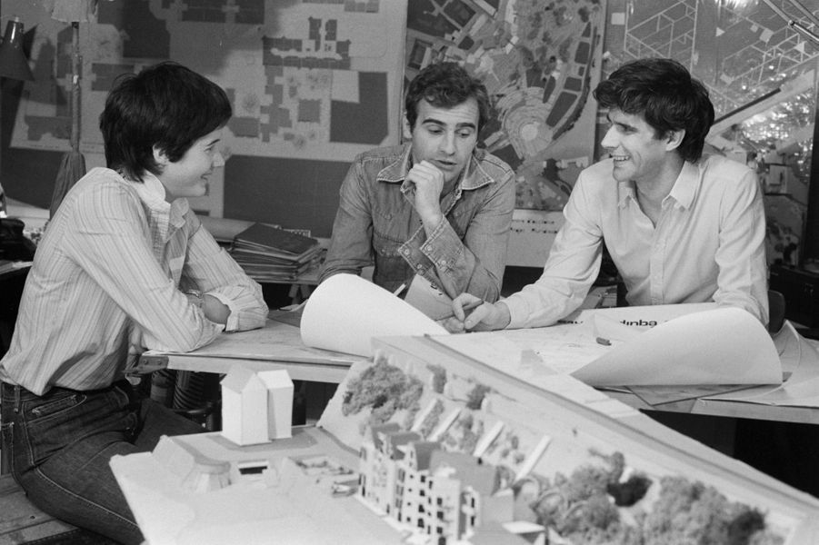 Mars 1979, Jacinte, 19 ans, pose pour Paris Match avec son fiancé, Philippe Guibout, 29 ans. Le couple se mariera en avril.