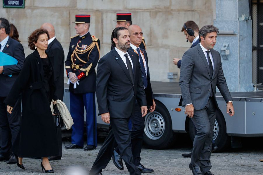 Le Premier ministre libanais Saad Hariri. Son père était l'ami de Jacques Chirac.