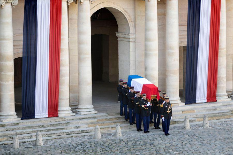 Lundi 30 septembre, cérémonie aux Invalides.