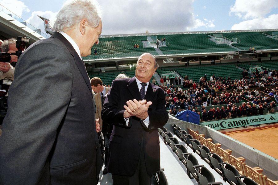 A Roland-Garros en 2000