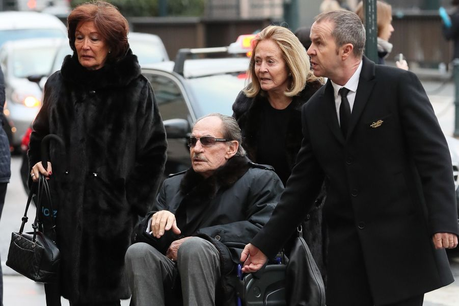 Pal Sarkozy de Nagy-Bocsa, père de Nicolas Sarkozy et sa femme Ines.