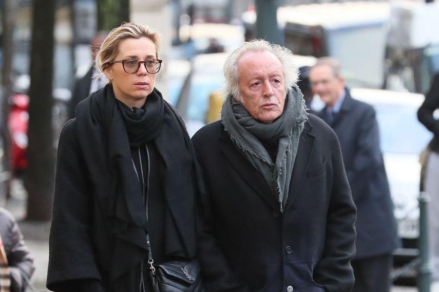 Didier Barbelivien et sa femme Laure.