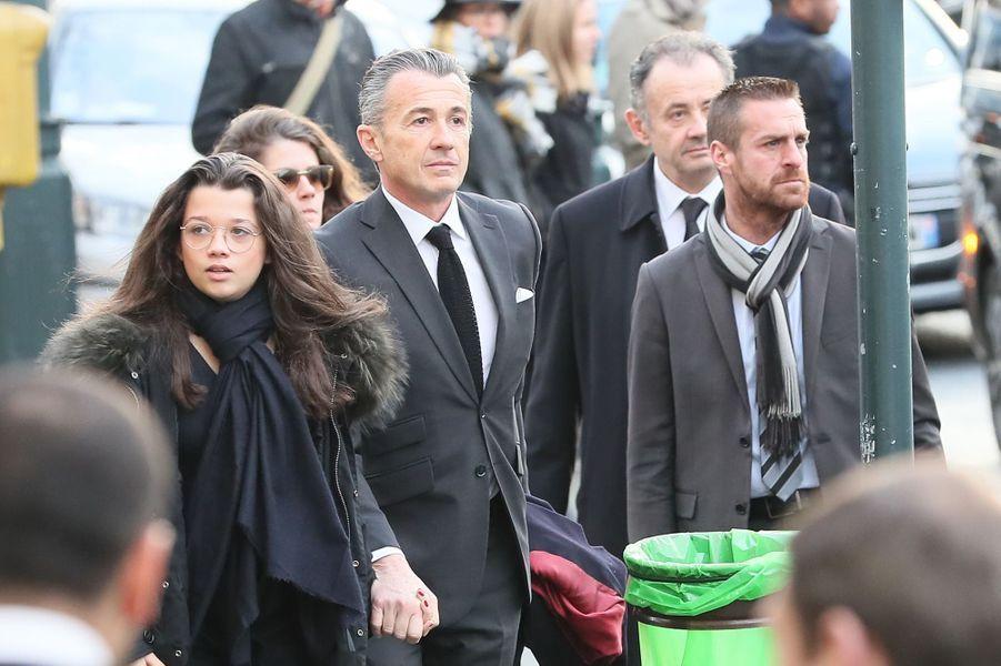 François Sarkozy et sa fille Anastasia