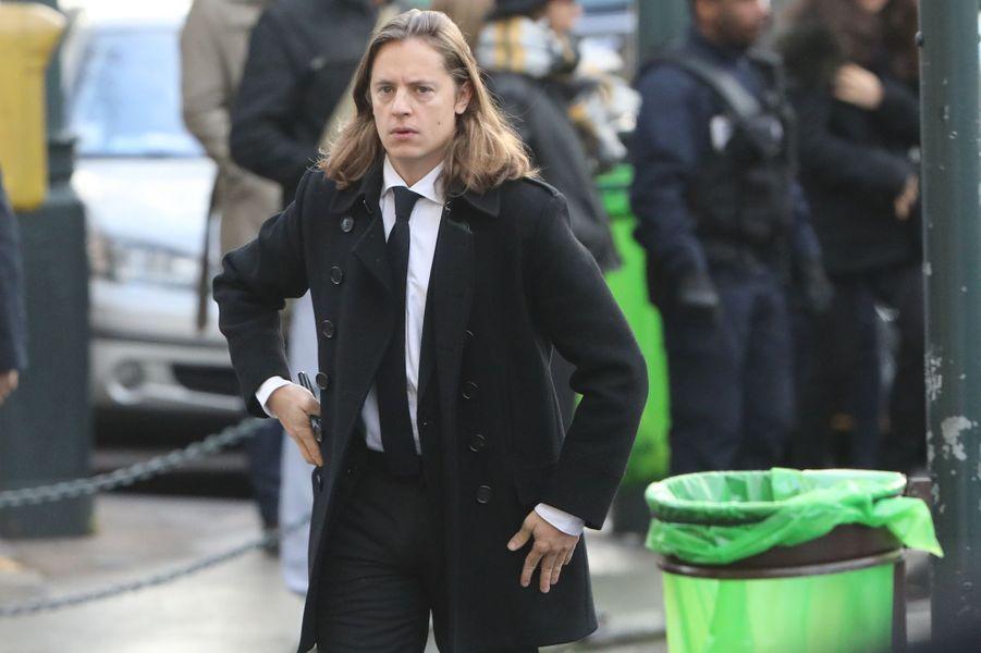 Pierre Sarkozy, fils de Nicolas Sarkozy.