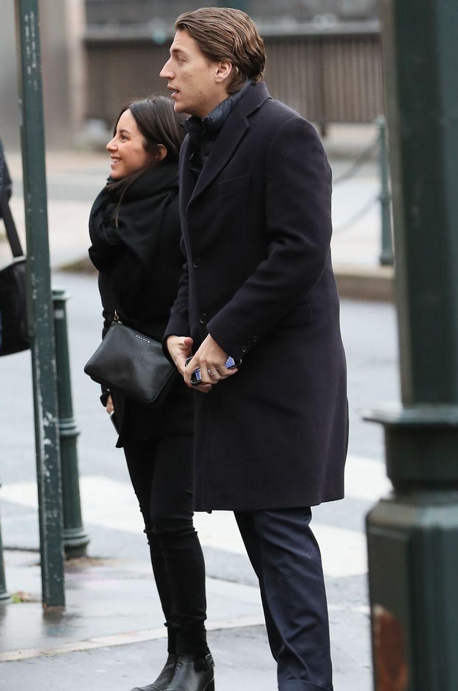 Jean Sarkozy et sa femme Jessica Sebaoun.