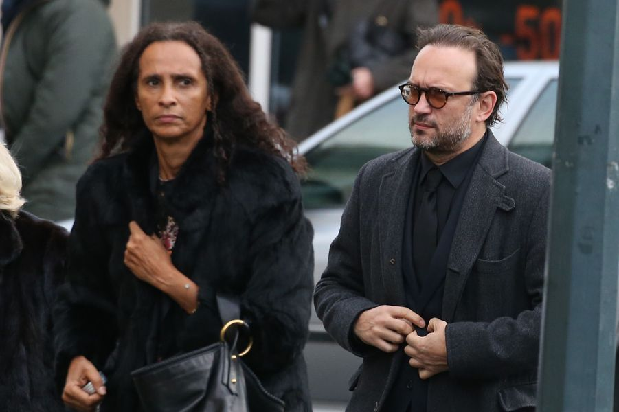 Vincent Perez et sa femme Karine Silla.