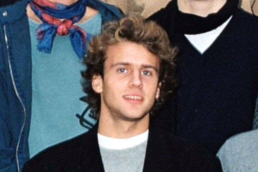 Emmanuel Macron, à l'âge de 18 ans.