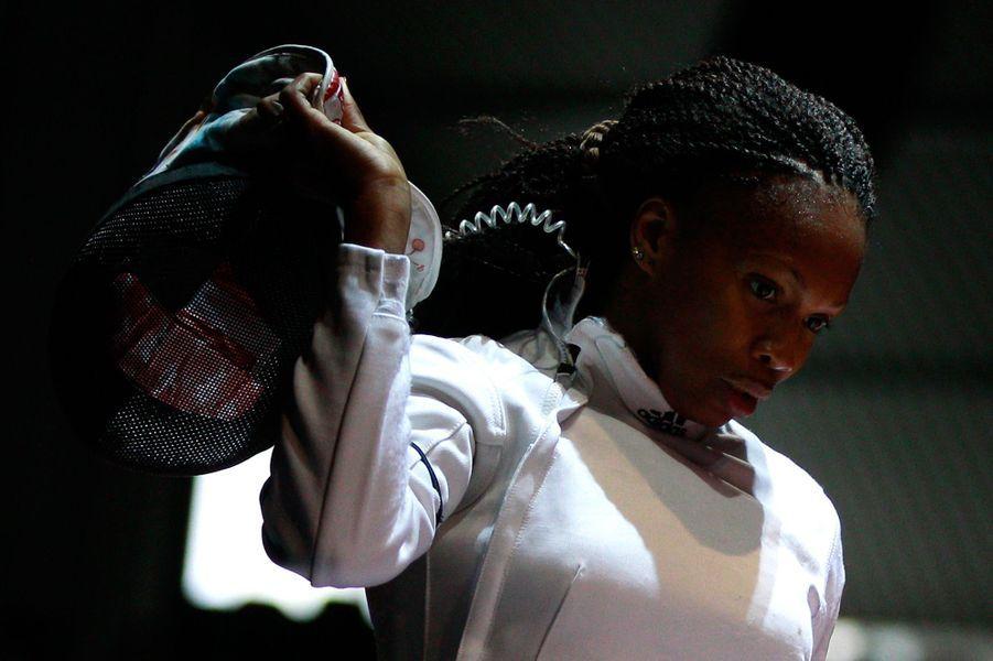 Octobre 2011, défaite de Laura Flessel aux championnats du monde d'escrime àCatane, en Sicile.
