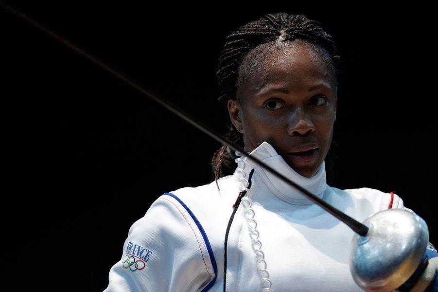 Laura Flessel aux Jeux olympiques de Londres en 2012.