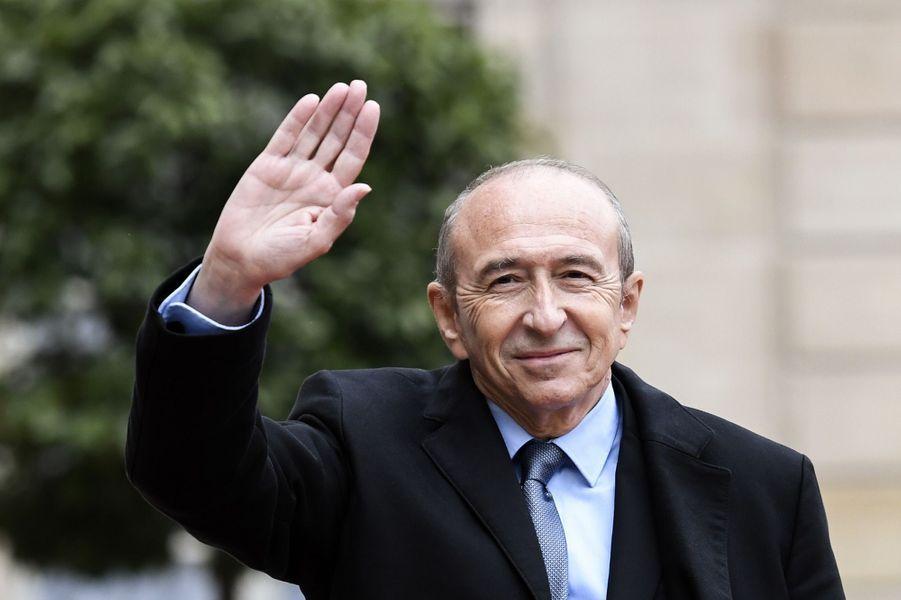 Le maire de Lyon,Gérard Collomb