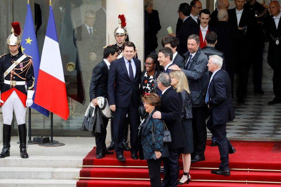 L'équipe de campagne d'Emmanuel Macron