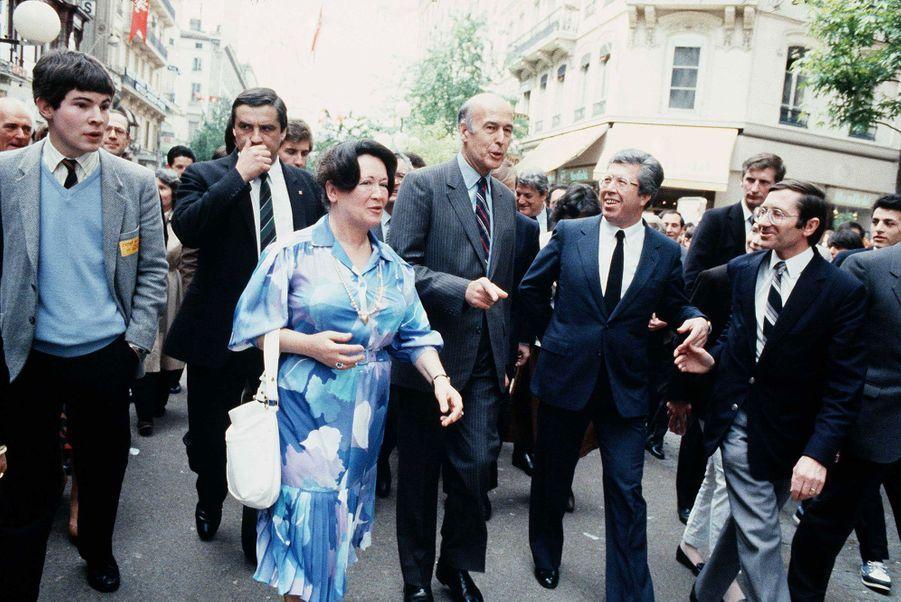 En mai 1983, Valéry Giscard d'Estaing fait un déplacement à Lyon. Il y prononce un discours sur «le projet de société pour l'opposition».