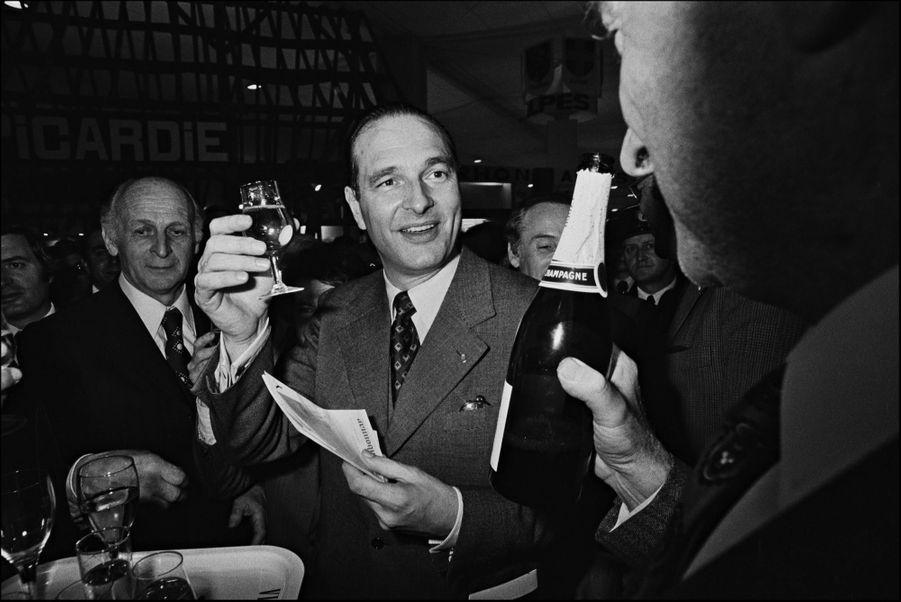 Jacques Chirac, Salon de l'Agriculture en 1975