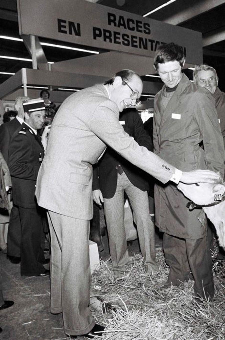 Jacques Chirac, Salon de l'Agriculture en 1980