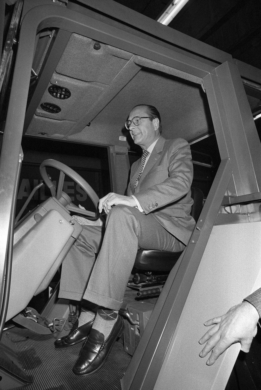 Jacques Chirac, Salon de l'Agriculture en 1984