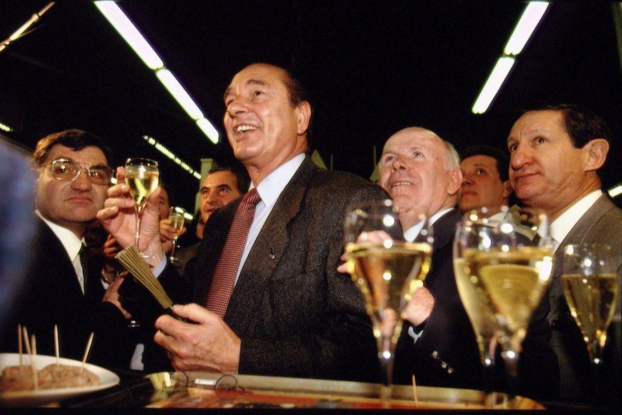 Jacques Chirac, Salon de l'Agriculture en 1994