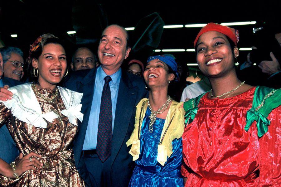 Jacques Chirac, Salon de l'Agriculture en 1995