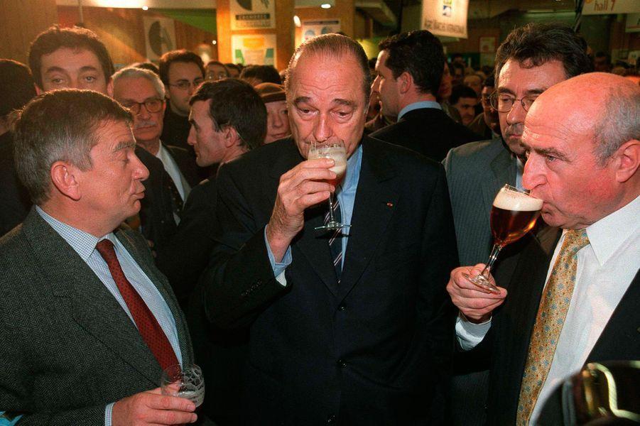 Jacques Chirac, Salon de l'Agriculture en 2001
