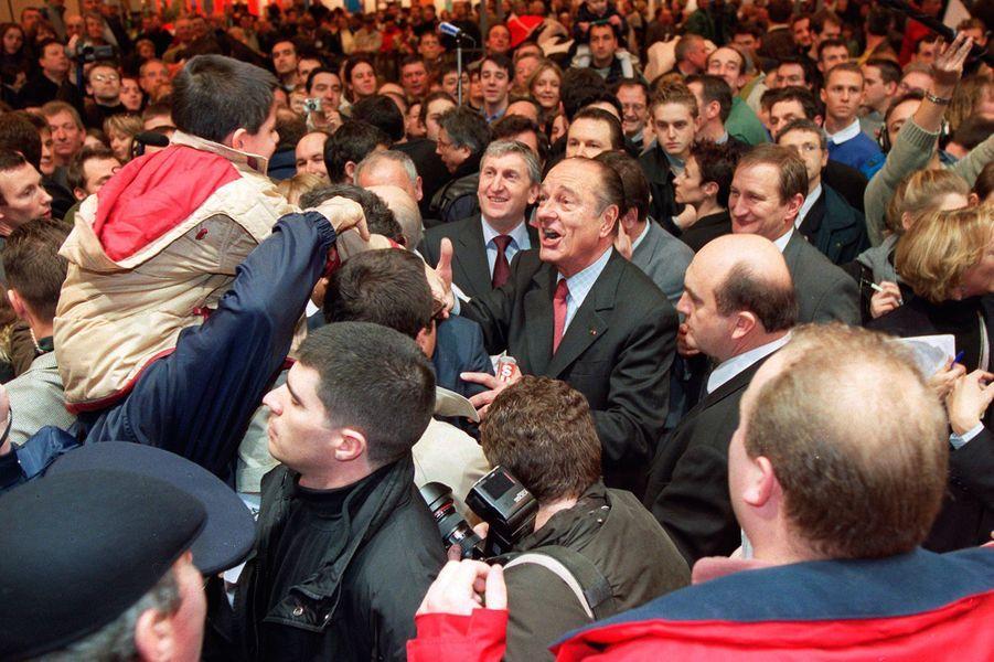 Jacques Chirac, Salon de l'Agriculture en 2002