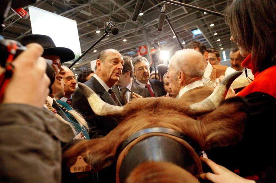 Jacques Chirac, Salon de l'Agriculture en 2005