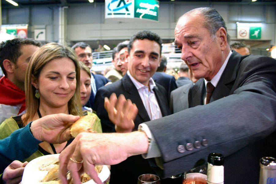 Jacques Chirac, Salon de l'Agriculture en 2006