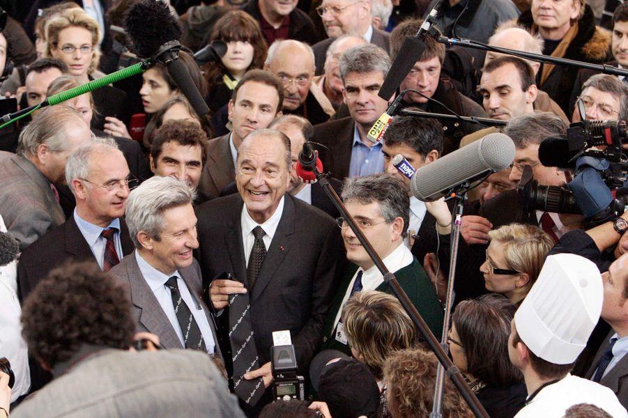 Jacques Chirac, Salon de l'Agriculture en 2008
