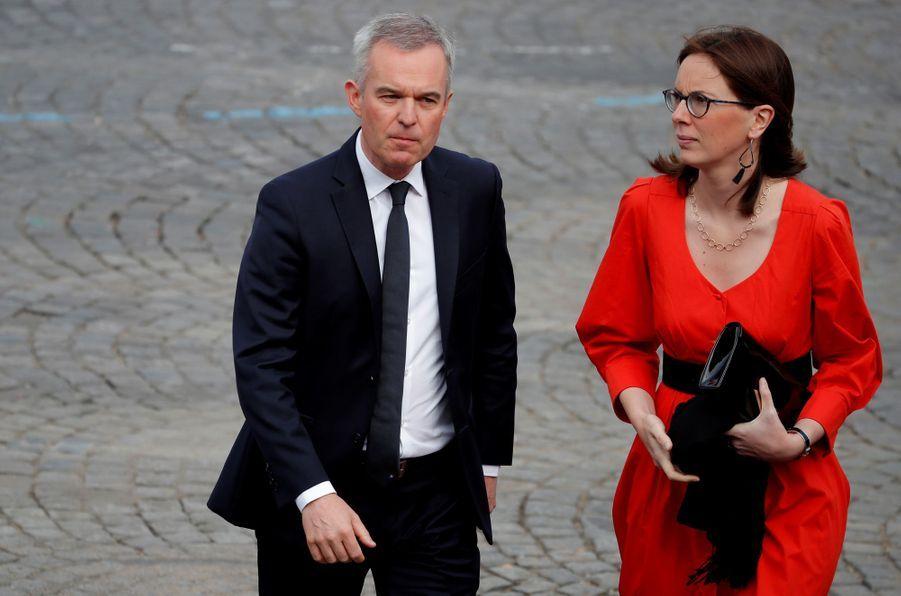 François de Rugy et Amélie de Montchalin.