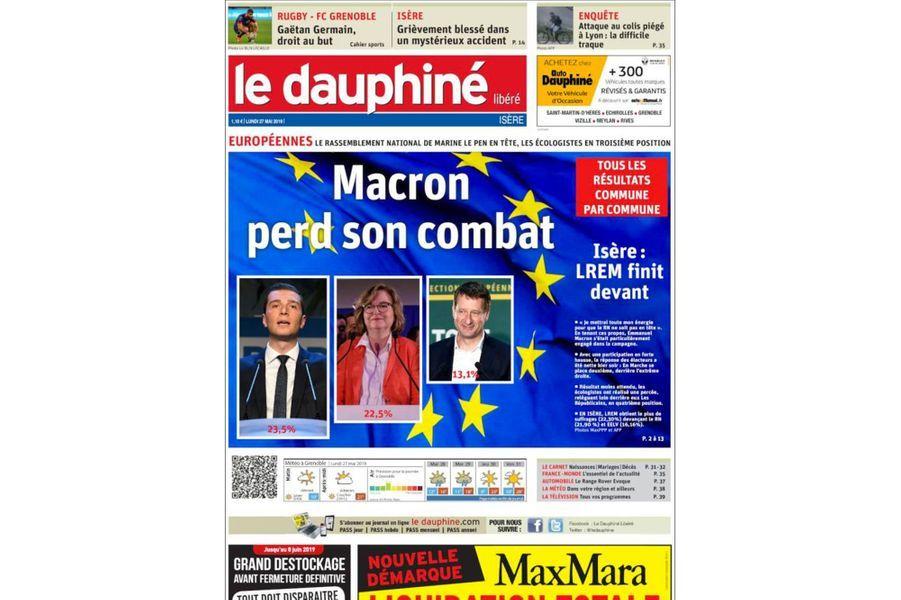 """""""Le Dauphiné Libéré"""""""