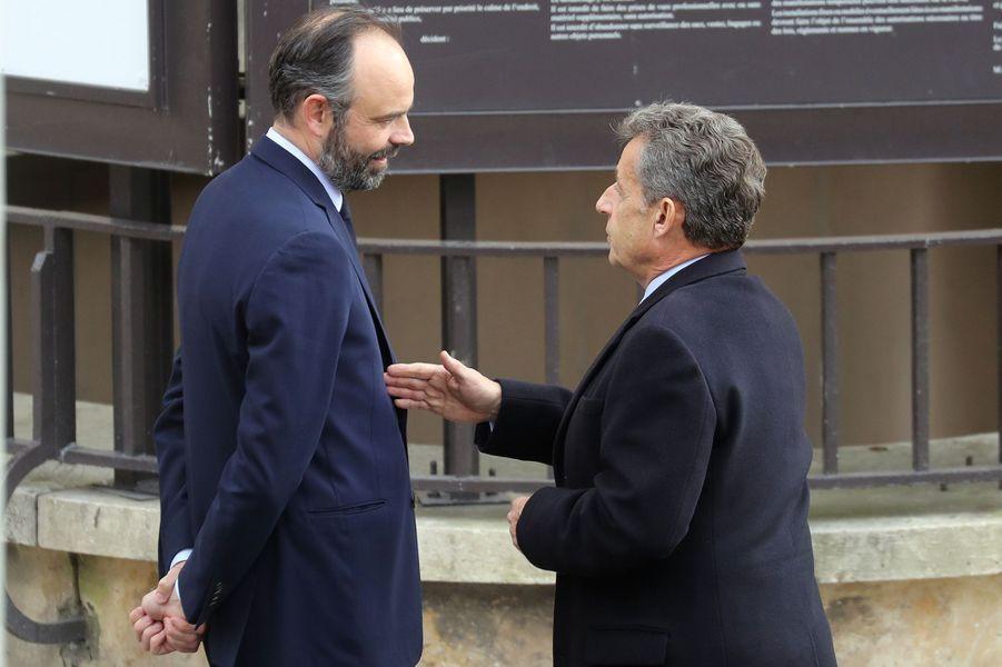 Edouard Philippe et Nicolas Sarkozy