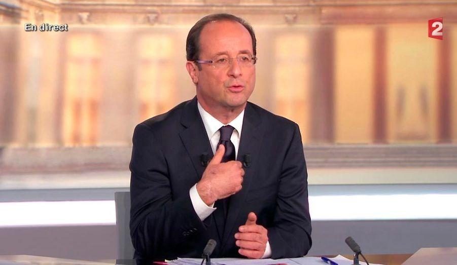 Si François Hollande est président de la République, c'est cette longue tirade que l'on retiendra pour le prochain débat, tant il a marqué les esprits par sa longueur et son rythme.
